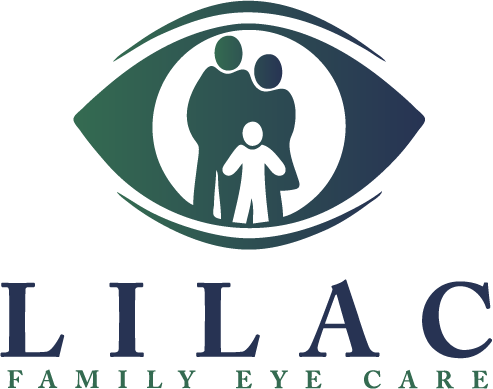 Lilac Family Eye Care Logo