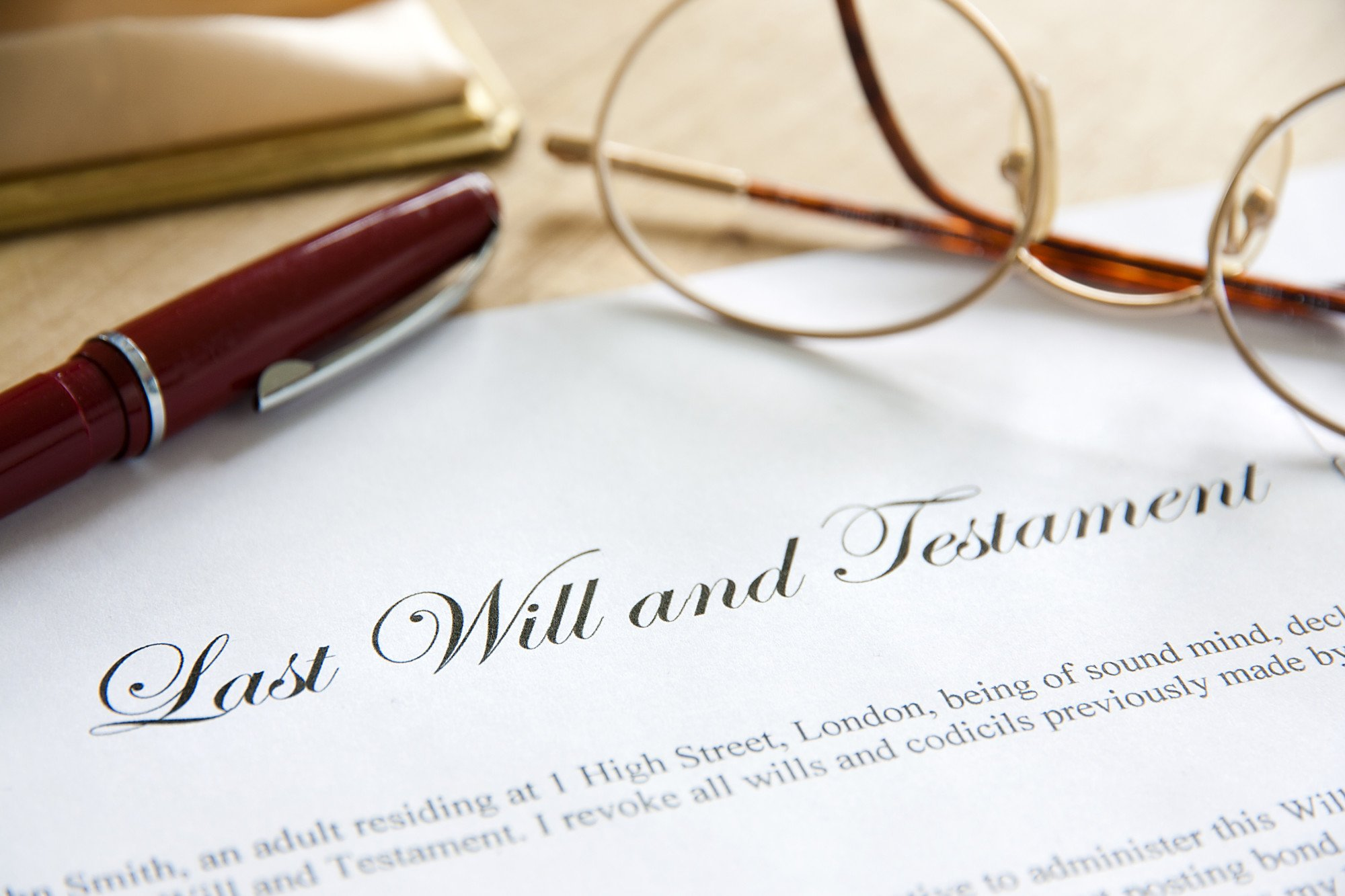 Will and Testament Legally Binding